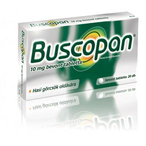 BUSCOPAN 10MG BEVONT TABLETTA - 20X