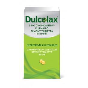 DULCOLAX 5 MG GYOMORNEDV-ELLENÁLLÓ BEVONT TABLETTA - 30X