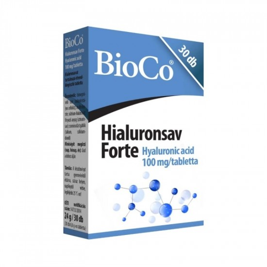 BIOCO HIALURONSAV FORTE TABLETTA - 30X