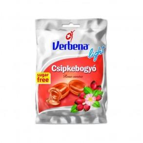VERBÉNA CSIPKEBOGYÓ LIGHT CUKORKA - 60G