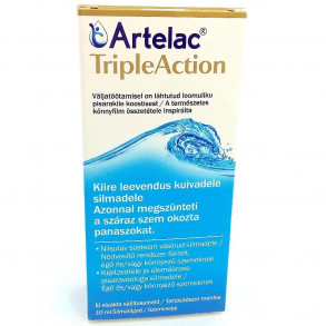ARTELAC TRIPLE ACTION SZEMCSEPP - 10ML