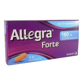 ALLEGRA FORTE 180 MG FILMTABLETTA - 30X
