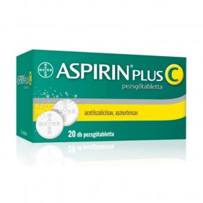 ASPIRIN PLUS C PEZSGŐTABLETTA - 20X