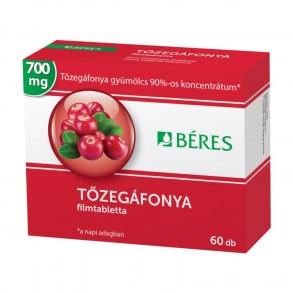 BÉRES TŐZEGÁFONYA 700 MG FILMTABLETTA - 60X