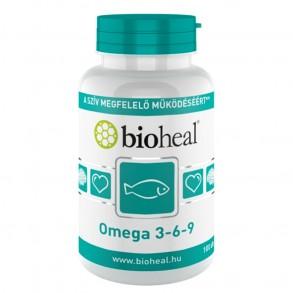 BIOHEAL OMEGA 3-6-9 1200 MG KAPSZULA - 100X