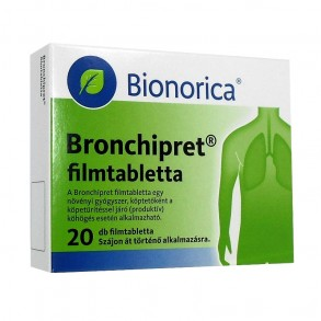 BRONCHIPRET FILMTABLETTA - 20X