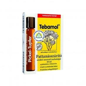PATTANÁSSZÁRÍTÓ TEAFAOLAJOS STIFT TEBAMOL - 10 ML