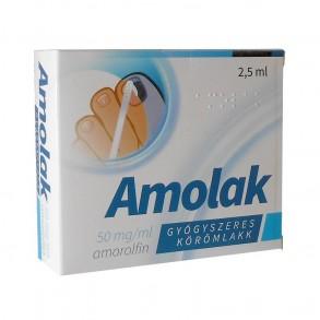 AMOLAK 50MG/ML GYÓGY KÖRÖMLAKK - 1X2,5ML