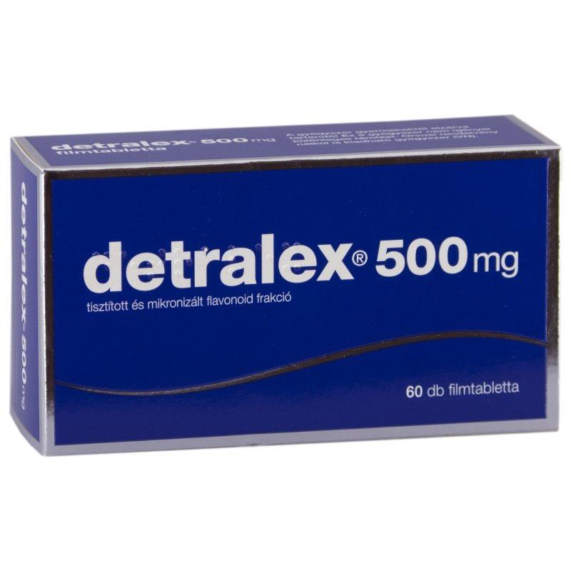 Detralex prostatitis kezelési útmutatóval