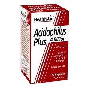 HEALTH AID ACIDOPHILUS PLUS 4 MILLIÁRD PROBIOTIKUM - 60X