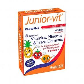 HEALTH AID JUNIOR -VIT RÁGÓTABLETTA - 30X