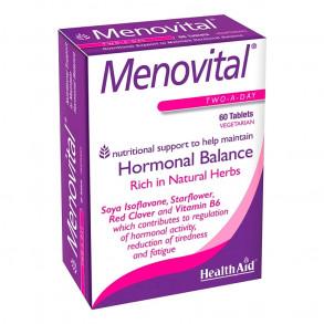 HEALTH AID MENOVITAL VÁLTOZÓKOR TABLETTA - 60X