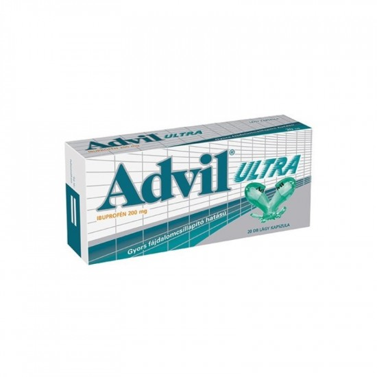 ADVIL ULTRA LÁGY KAPSZULA - 20X