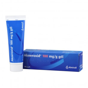 AKNEROXID 100MG/G GÉL - 50G