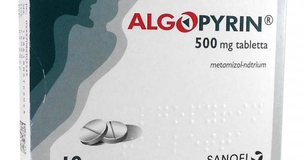 Algopyrin és vérnyomáscsökkentő szedhető együtt?