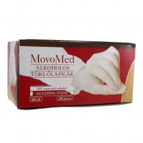 ALKOHOLOS TÖRLŐLAPKÁK MOVO-MED - 100X
