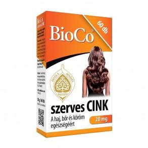 BIOCO SZERVES CINK TABLETTA - 60X