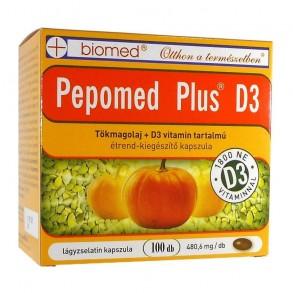 BIOMED PEPOMED PLUS D3 VIT KAPSZULA - 100X