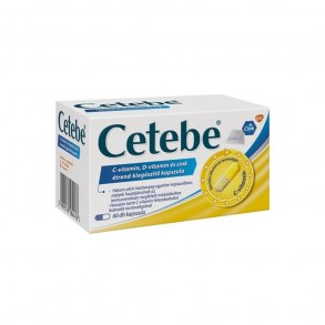 CETEBE C-VITAMIN + D-VITAMIN + CINK KAPSZULA - 60X