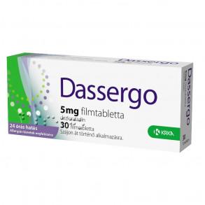 DASSERGO 5 MG FILMTABLETTA - 30X