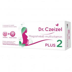 DR. CZEIZEL PLUS 2 MULTIVITAMIN FILMTABLETTA + KAPSZULA 30X+30X