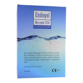 ENDOGOL MACROGOL 3350 BÉLMOSÓ FOLY - 4X