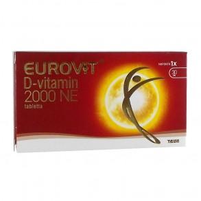 EUROVIT DVITAMIN 2000NE ÉTRKIEG TABL - 30X