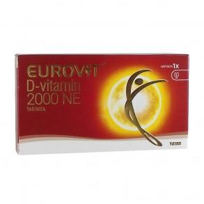 EUROVIT DVITAMIN 2000NE ÉTRKIEG TABL - 60X