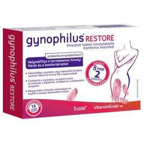 GYNOPHILUS RESTORE HÜVELYTABLETTA - 2X