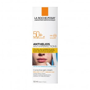 LA ROCHE-POSAY ANTHELIOS ANTIACNE SPF50+ GÉLKRÉM - 50 ML