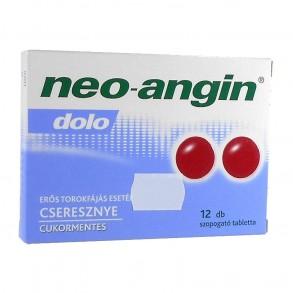 NEO-ANGIN DOLO SZOPOGATÓ TABLETTA - 12X