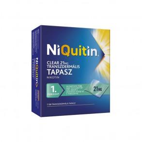 NIQUITIN CLEAR 21 MG TRANSZDERMÁLIS TAPASZ - 7X