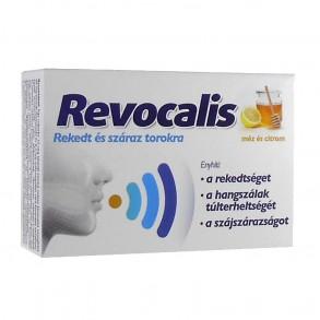 REVOCALIS SZOPOGATÓ TABL MÉZ CITROM - 12X