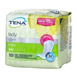 TENA LADY SLIM MINI - 10X