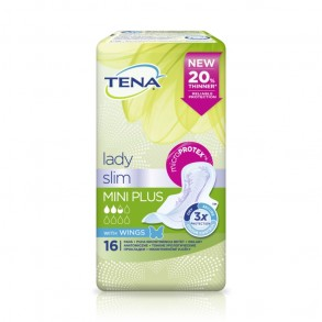 TENA LADY SLIM MINI PLUS - 16X