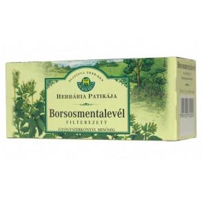 HERBÁRIA BORSOSMENTA-LEVÉL TEA FILTERES - 25X1,5 G