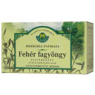 HERBÁRIA FEHÉRFAGYÖNGY-TEA FILTERES - 20X1G