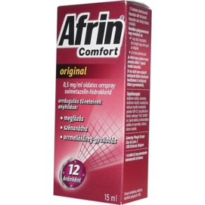 AFRIN COMFORT ORIGINAL 0,5 MG/ML OLDATOS ORRSPRAY - 1X15ML
