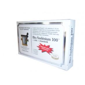 BIO-SZELÉNIUM +CINK100 PHARMANORD - 60 X