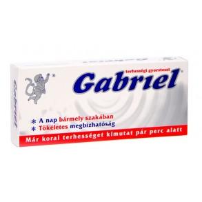 TERHESSÉGI TESZT GABRIEL - 1 X