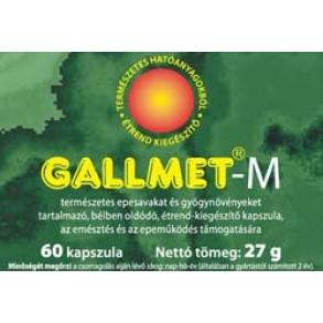 GALLMET-M GYÓGYNÖVÉNY KAPSZULA - 60 X