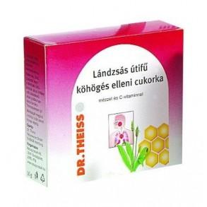 DR. THEISS LÁNDZSÁS ÚTIFŰ CUKORKA MÉZ + C VITAMIN - 50 G