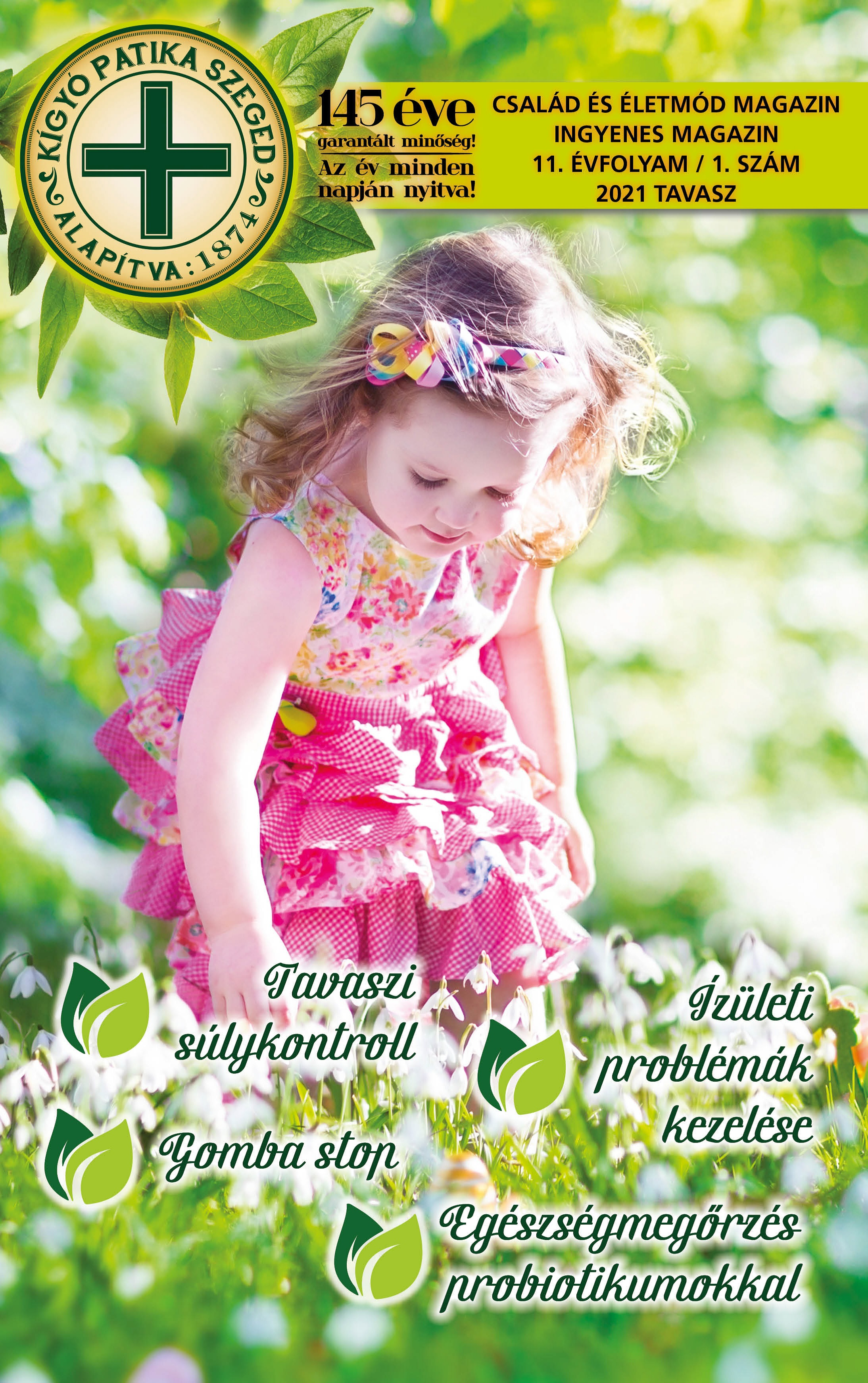 Család és Életmód Magazin - 2021. tavasz